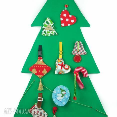 choinka zręcznościowa, dekoracja i zabawa, święta montessori ozdoby