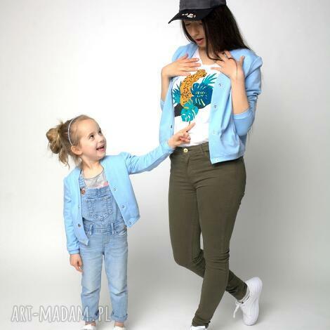 ubranka bomberka błękitna dziecięca, bomberka, dziecko, dzianina