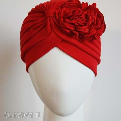 turban czerwony