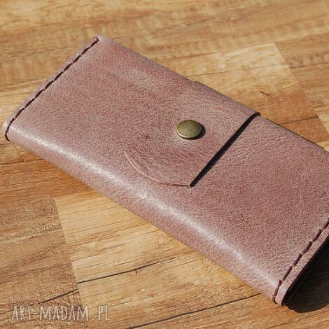 skórzane marmurkowe etui na telefon z portfelem, etui, skóra, portfel, grawer
