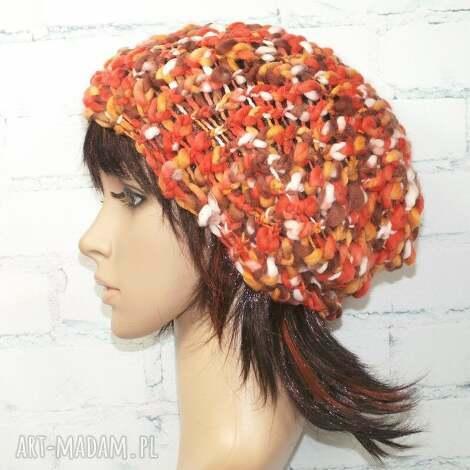 czapka - złota polska - czapka, prezent, czapa, jesień, zima