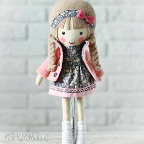 unikalne, malowana lala malwinka, lalka, zabawka, przytulanka, preznt