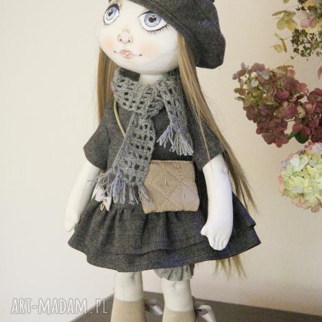 lalka ręcznie wykonana, kolekcjonerstwo, szyta, na prezent