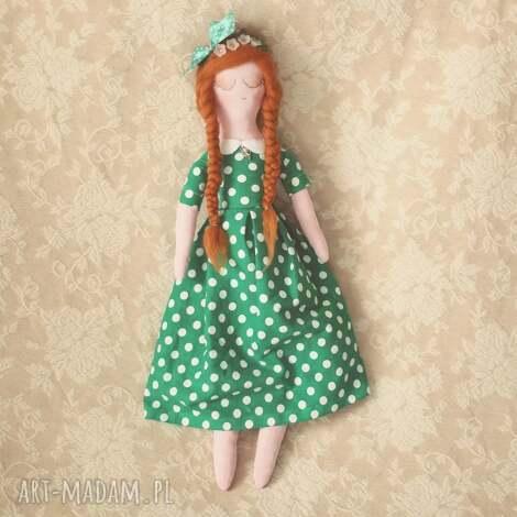 bajka na szczeście - lalka koniczynka, lalka, czterolstna, onczyka, wianek, wróżka