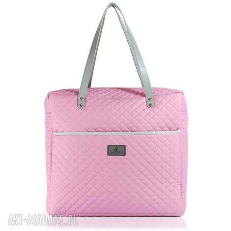 farbotka torebka shopperka 614, podróżna, podręczna, torebki, oryginalny