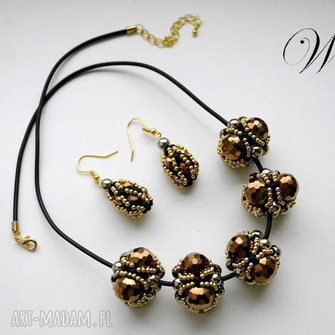 komplety komplet beading nr2, beading, komplet, elegancki, modny biżuteria