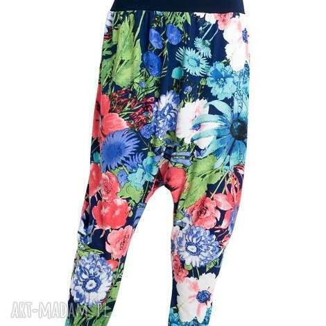 flower-power-spodnie, boho, etno, thai spodnie, szarawary, wiskoza, luźne