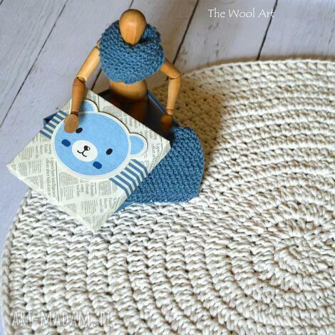 bawełniany dywan ecru, dywan, chodnik, dom, dziecko, prezent na święta