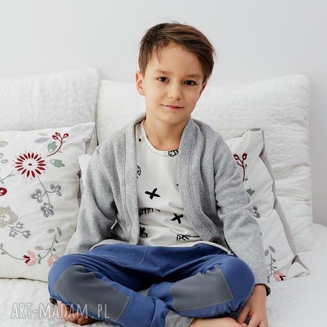 ubranka spodnie baggy blue, spodnie, baggy, dziecko, wiosna, łaty, dziecięce dla