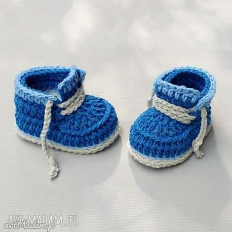 buciki kingston, buciki, tramki, dziecięce, prezent, włóczkowe, niemowlęce dla