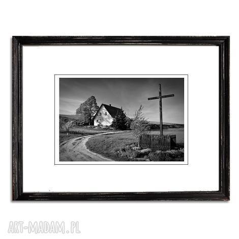 home, fotografia autorska, fotografia, polski, pejzaż, kapliczka, dom, pod