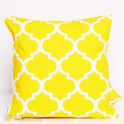 poduszka fresh yellow 50x50cm od majunto, poduszka, poduszka-dekoracyjna