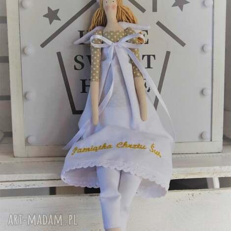 lalki anioł tilda pamiątka chrztu świętego, anioł, pamiątka, chrztu, świętego