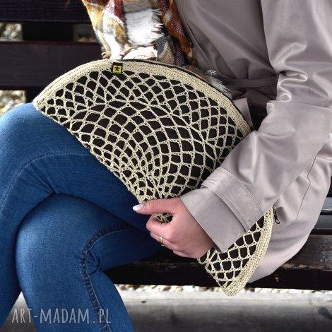 7658c9c7bc6fc Beżowe torebki do 200 zł. Handmade torba