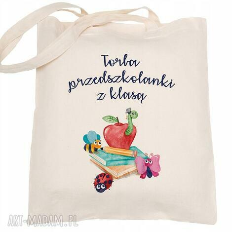 torba eko na zakupy przedszkolanka z klasą - dzień nauczyciela, torebka