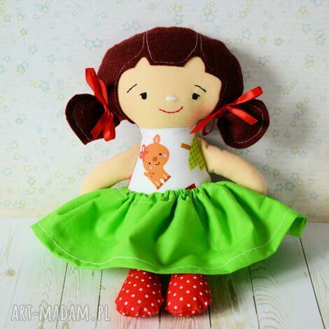 lalki lala fruzia - wersja świąteczna renifer, lalka, święta, niemowlę, roczek