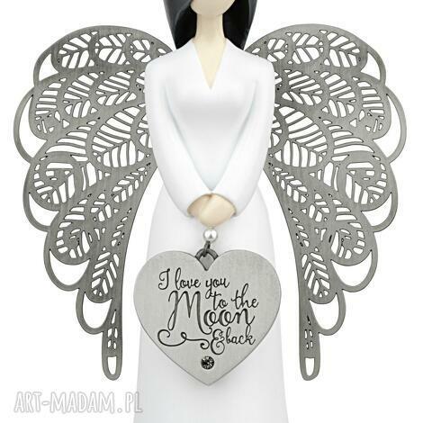 ślub figurka anioŁ miłości you are an angel 15,5 cm, anioł, prezent, miłość