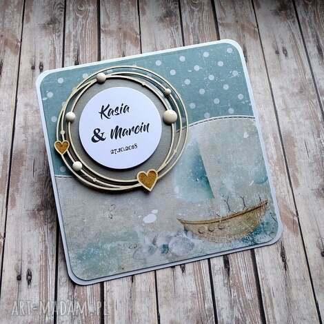 Ślubna morska bryza - życzenia ślubne, morska, okręt, romantyczna, morze