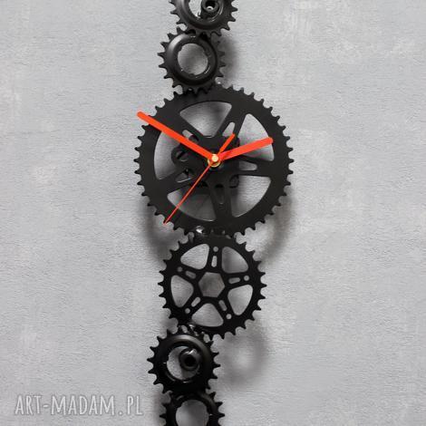 zegar ścienny saw, metalowy, loftowy, industrialny, prezent, oryginalny, designerski
