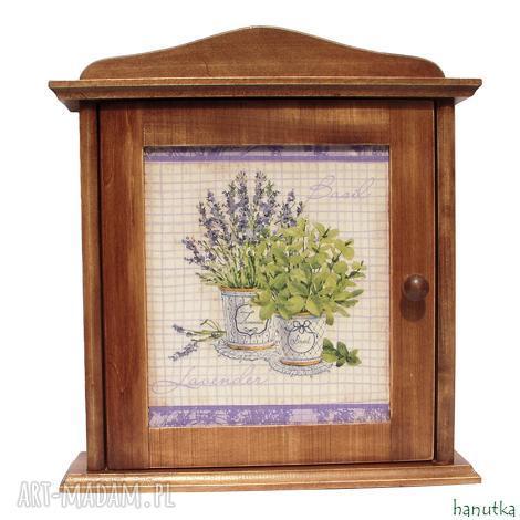 rustykalna - szafka na klucze, prezent, schowek, skrzyneczka, klucz, lawenda