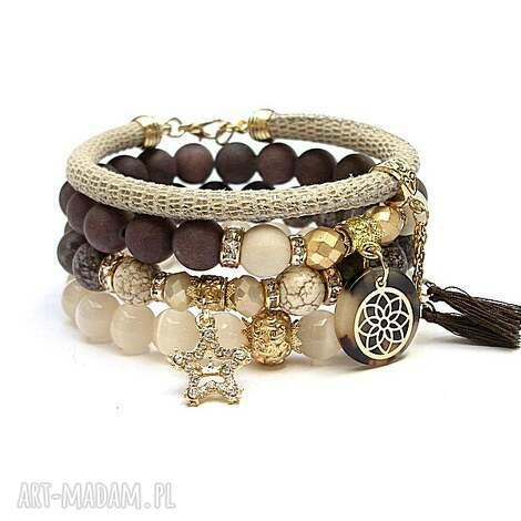brown and ivory /18-10-21/ set, kamienie, minerały, zestaw, komplet, ki ka