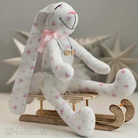 królik z imieniem persnalizacja prezent - królik, miś, personalizacja