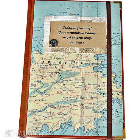scrapbooking albumy kalendarz podróżnika 2019, kalendarz, motywacaj, mapy