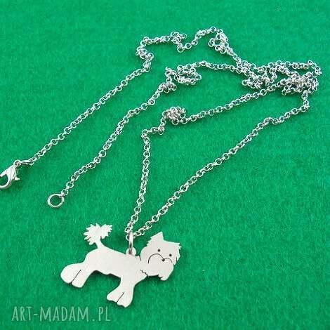 naszyjnik yorkshire pies nr 1 - naszyjnik, pies, york, prezent, urodziny
