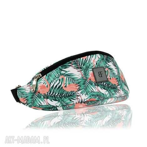 nerka / saszetka junior 1214 flamingi, nerka, dziecięca, kolorowa torebki
