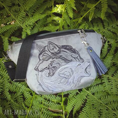 nerka xxl nieokiełznane wilki nerka unisex, wilki haft wilk, leśna