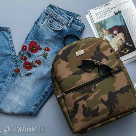 plecak 709 moro, plecak, duży, pakowny, lekki, stylowy plecaki torebki