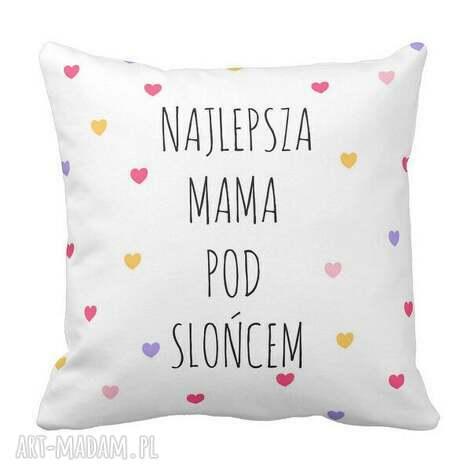 poduszka dekoracyjna najlepsza mama pod słońcem 6503, mama, dzień, matki, prezent