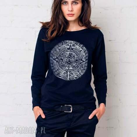 mayan bluzka oversize, bluzka, longsleeve, bawełna, casual, moda