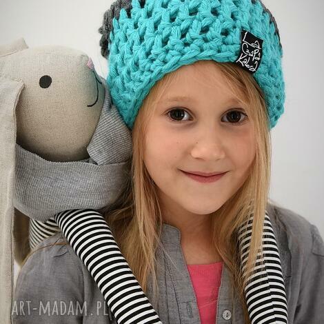 triquensik 23 - czapka, czapa, zimowa, ciepła, dziecięca, zima