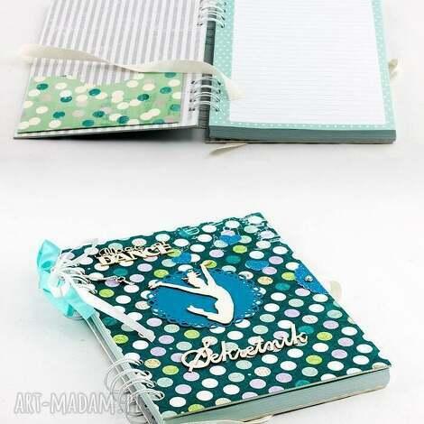 pamiętnik - sekretnik, pamiętnik, prezent, dziewczynka, taniec
