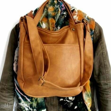pod choinkę prezent, na ramię miniks vegan rudy, vegan, torebka, torba