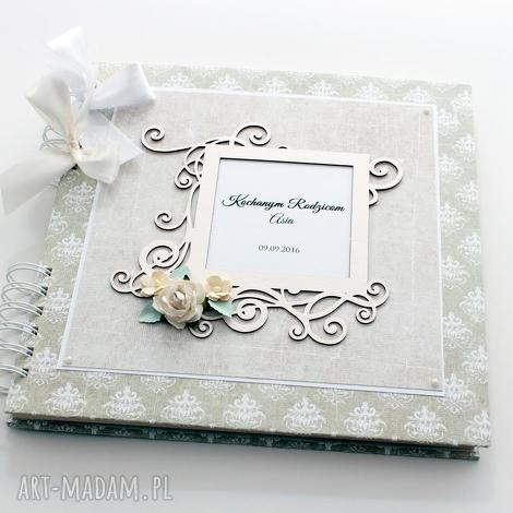 album na ślub - księga gości- podziękowania, album, ślub, księga, prezent