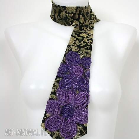 krawat damski, krawat, dodatki, tie krawaty