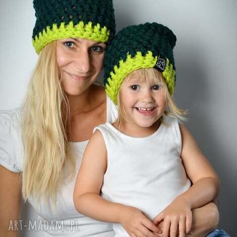 czapka inferiorek 05 - czapka, czapa, dziecko, zima, kolorowe, ciepła