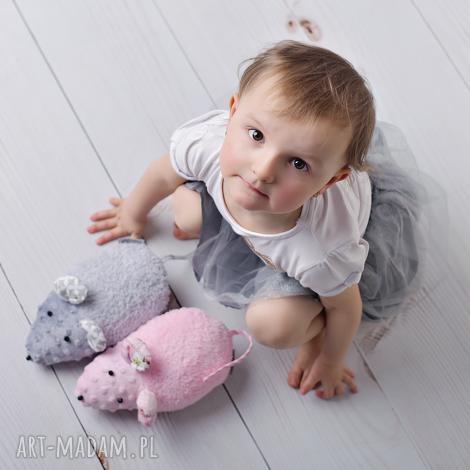 przytulanka dziecięca myszka - myszka zabawka, myszka przytulanka, mysz na prezent