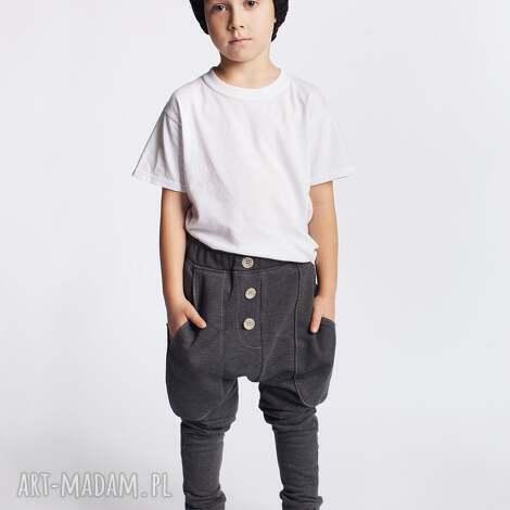 spodnie chsp08g, spodnie, wygodne, stylowe, guziki dla dziecka