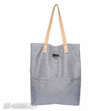 torba damska cube city, kieszenie, torebka, mana-mana, personalizacja, modyfikacja na
