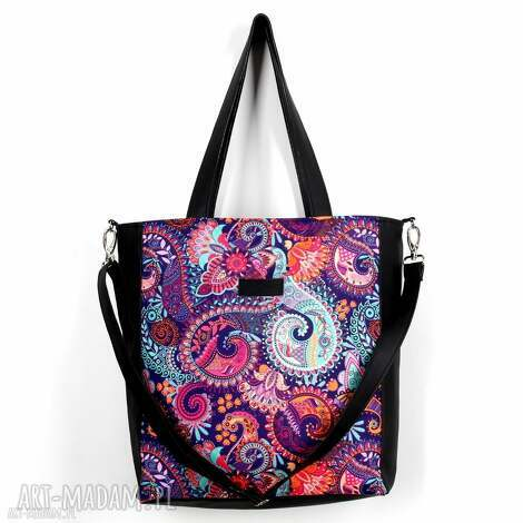 orientalna torba wodoodporna kolorowa pojemna, torba