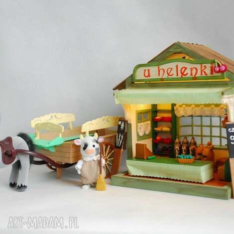 domek dla lalek sklep - domek, lalki, sklep, prezent, unikat