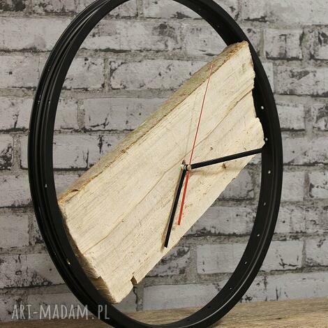 zegary zegar wood black, zegar, drewiany, duży, drewno, prezent, rowerzysta