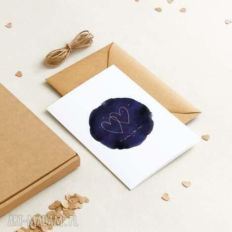 kartki ekologiczna kartka okolicznościowa ślubna / miłosna z okazji rocznicy