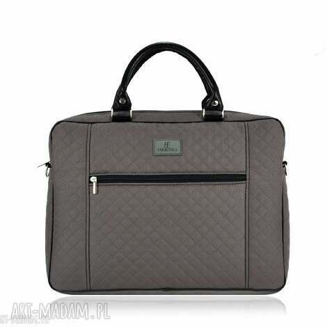 torba na laptopa 1230, laptopowa, pikowana, pojemna, lekka, elegancka, prezent