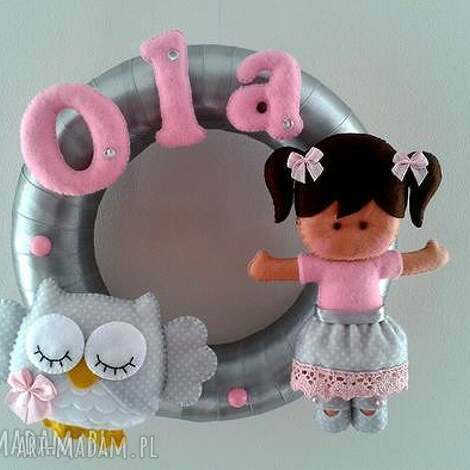 personalizowana girlanda z imieniem dziecka - girlanda, dekoracja