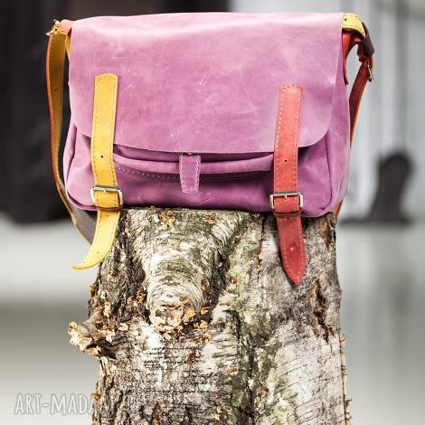 skórzana teczka, aktówka ręcznie robiona, navahoclothing, torba na laptopa