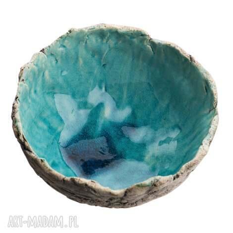 unikalny, miska ceramiczna, miska, ceramika, glina, naczynie, misa, zastawa